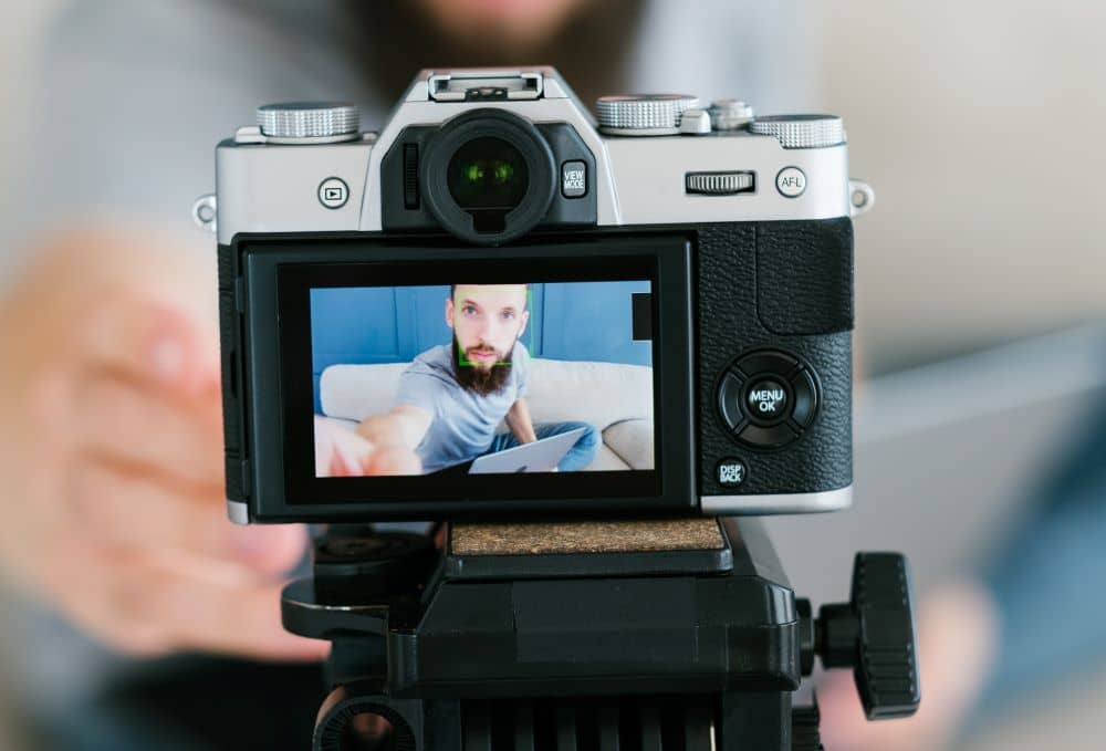Since cameras were on sale last year but there are still travel restrictions, people at home have been using it for vlogging and posting on social media.
