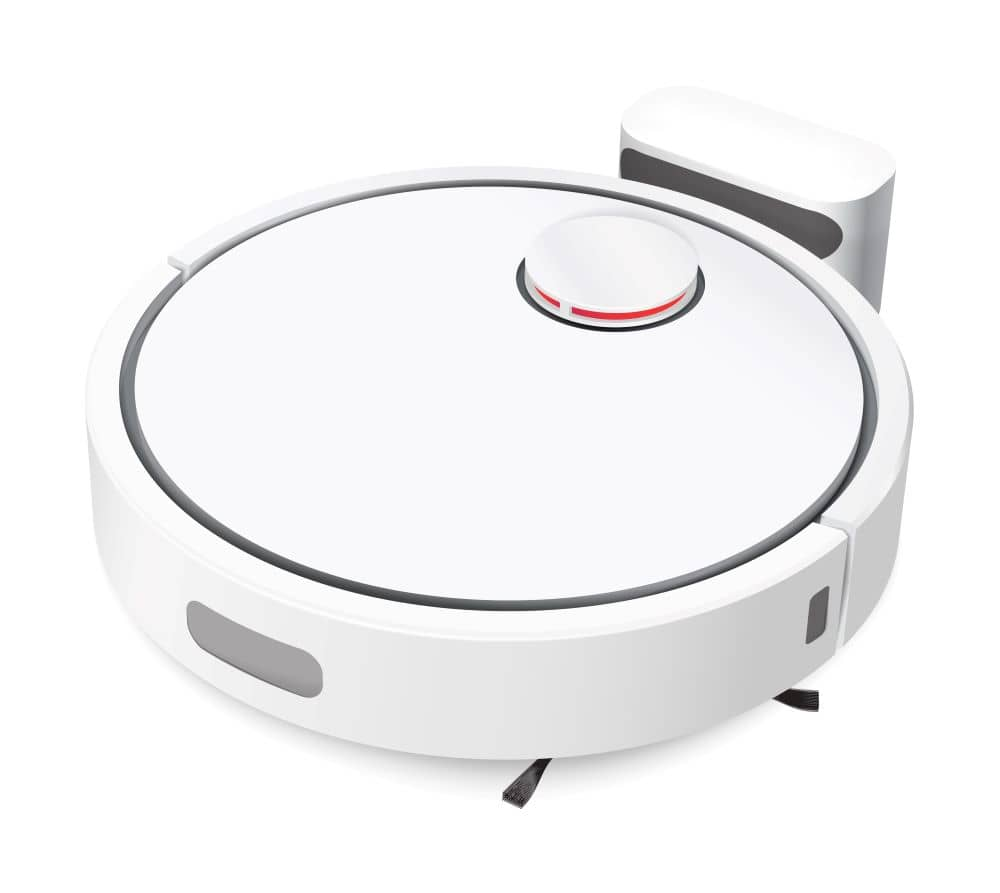The robot vacuum is easy to use and incredibly efficient.