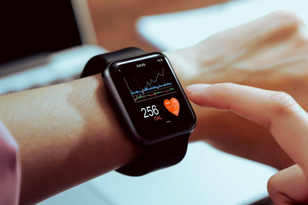 Aside from being able to communicate just by using your smartwatch, you can also use it to track your health too.