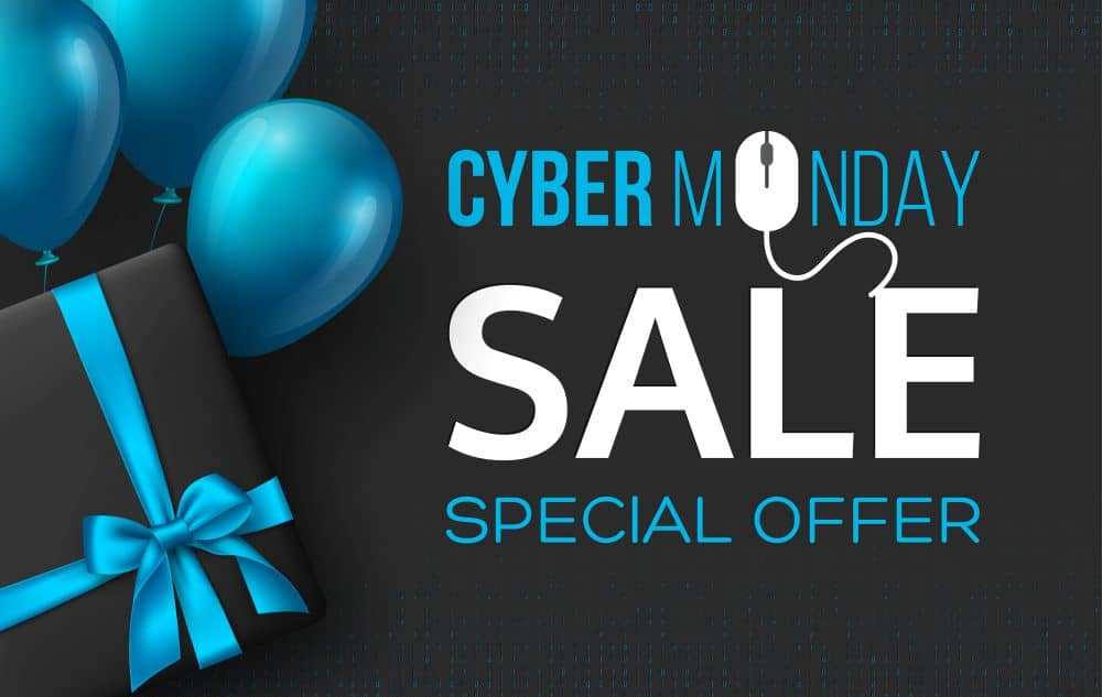 Cyber Monday is the first Monday after Thanksgiving.